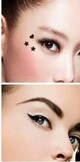 قلم ايلاينر +تاتو نجوم