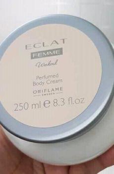 Eclat Femme Weekend perfumed body cream