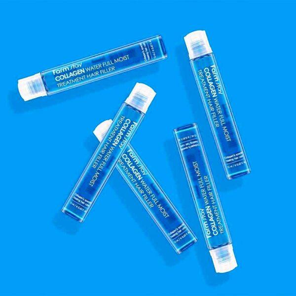 Farm stay collagen water full moist treatment hair filler